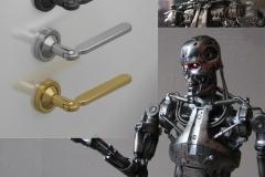 Дверная ручка «Терминатор»