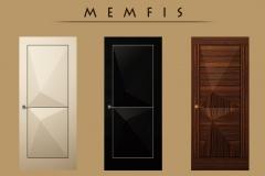 Екатерина Гензерская Дверь с 3D фасадами Memfis