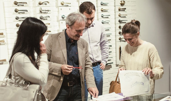 Мастер-класс итальянского дизайнера и совладельца компании Linea Cali – Mario Facchetti